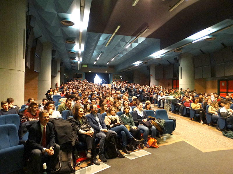 IRET Foundation has organized the UniStem Day, event for high school students on the research on stem cells, at Bologna uNIVERSITY