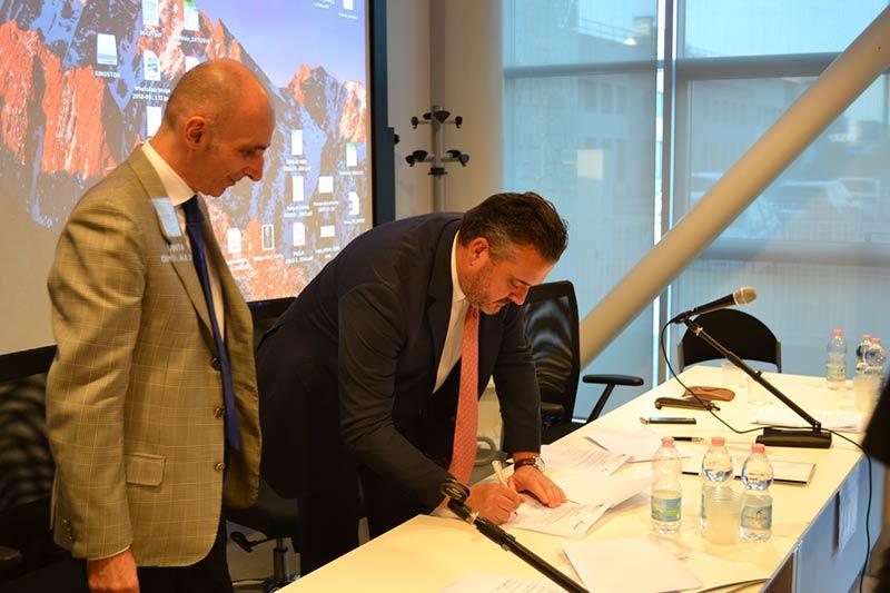 (Italiano) Siglato accordo quadro fra Tecnopolo di Bologna-Ozzano e INNOVAMI