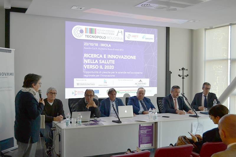 Incontro a Imola fra attori dell'ecosistema regionale dell'Innovazione