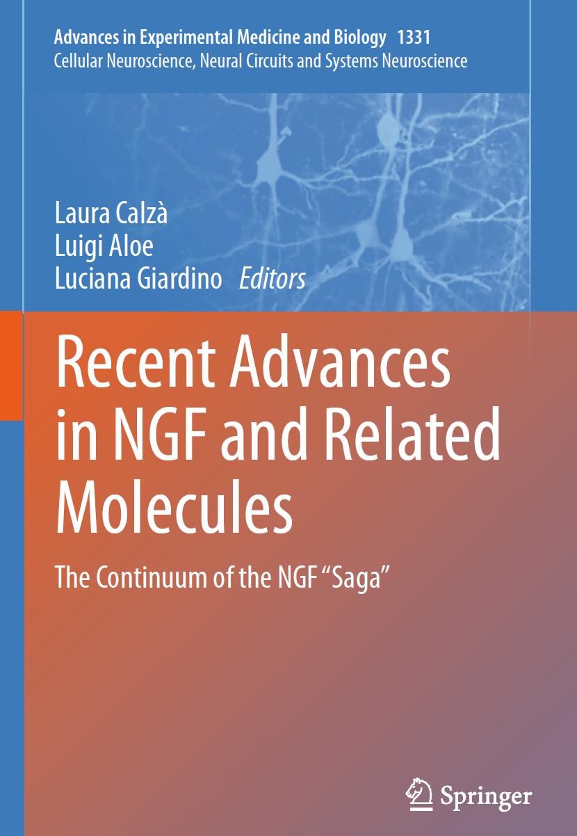"Pubblicato il volume ""Recent Advances in Nerve Growth Factor Related Molecules"""